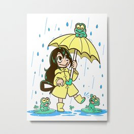 Best Frog Girl1 Metal Print