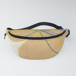 "Hilma af Klint ""The Seven-Pointed Star No. 1"" Fanny Pack"