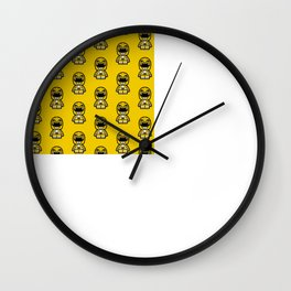 Power Chibi Yellow Ranger Wall Clock