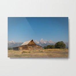 Mormon Row, Wyoming Metal Print