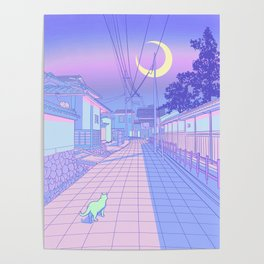 Kyoto Nights Poster