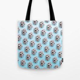 Irish Wolfhound Print Tote Bag