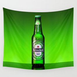 Ice cold Heineken Wall Tapestry