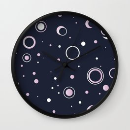 Candied Night Sky Wall Clock