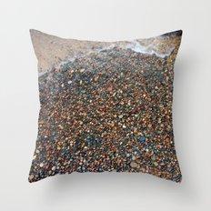Lake Superior Pebbles Throw Pillow
