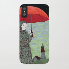Red Umbrella Slim Case iPhone X