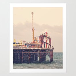 Brighton Palace Pier Art Print