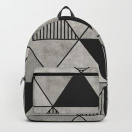Concrete Triangles 2 Backpack