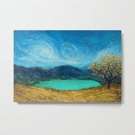 Samao Landscape Metal Print