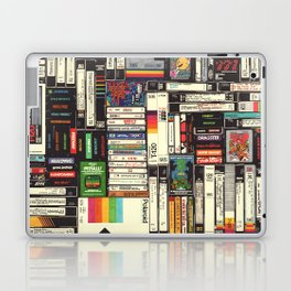 Cassettes, VHS & Games Laptop & iPad Skin