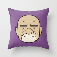 Faces of Breaking Bad: Mike Ehrmantraut Throw Pillow