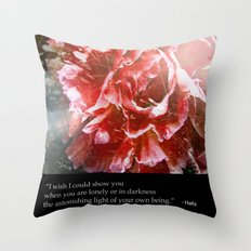 I Wish I Could Show You... Throw Pillow