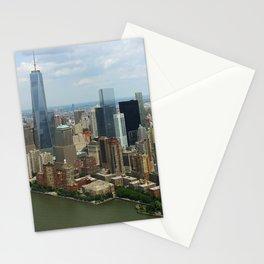 new york city ... manhattan view IV Stationery Cards