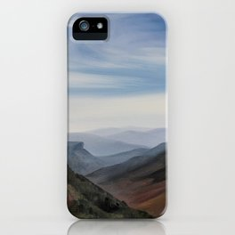 Hawksbill Mountain iPhone Case