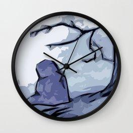 Light of the Moon Wall Clock