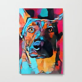 German Shepherd 7 Metal Print