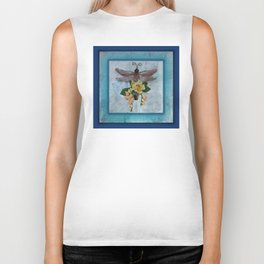Dragonfly Love by Kathy Morton Stanion Biker Tank