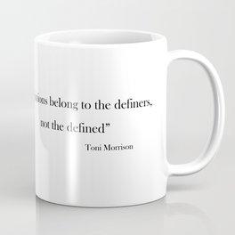 Toni Morrison Coffee Mug