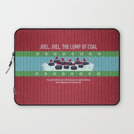 Lump of Coal / Christmas Sweater Laptop Sleeve