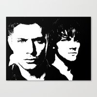 winchester Canvas Prints featuring Winchester by Panda Cool