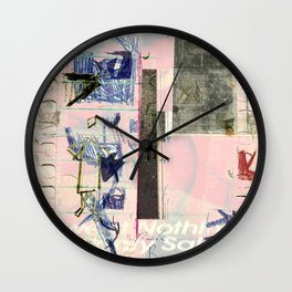 Just Can't Help Myself Wall Clock