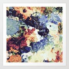 Painter's Palette Art Print