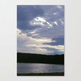 Walden Pond at Dusk 4 Canvas Print