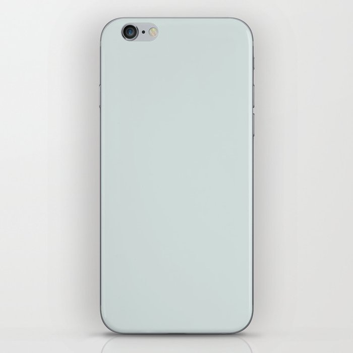 spa blue iPhone Skin