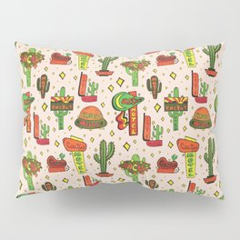 Cactus Motel Print Pillow Sham