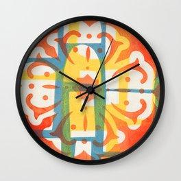 Print in colour Wall Clock