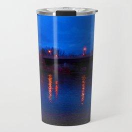 Light Reflections On Water Travel Mug