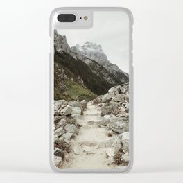 Cascade Canyon Clear iPhone Case