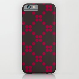 DOTS TTY N13 iPhone Case