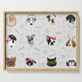 Polka Pets Serving Tray