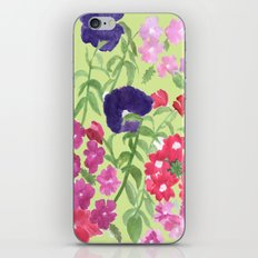 Floral Print iPhone & iPod Skin