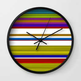 LInes 4 Wall Clock