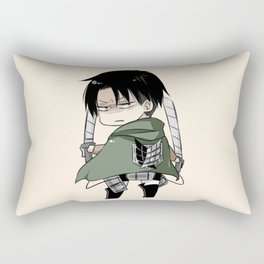 Levi Chibi Nice3 Rectangular Pillow