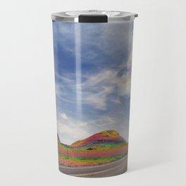 Rainbow Mountains Majesty Travel Mug
