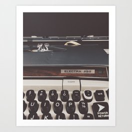 Electra 220 Art Print
