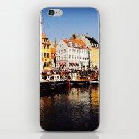 copenhagen iPhone & iPod Skins featuring Copenhagen  by Ivanka