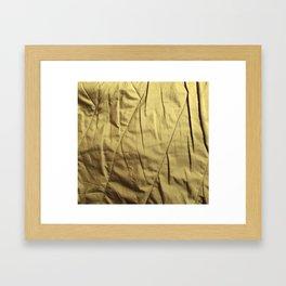 vintage cloth Framed Art Print