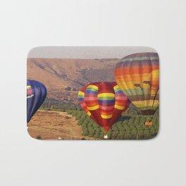 Hot Air Balloons Wine Country Southern California Bath Mat