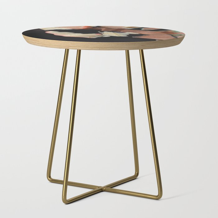 Colored Pencil Shavings Side Table by livsim