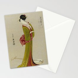 Itsutomi - Vintage Japanese Woodblock Stationery Cards