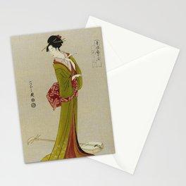 Itsutomi - Vintage Japanese Woodblock Stationery Cards