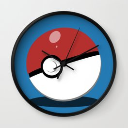 Pokéball Wall Clock