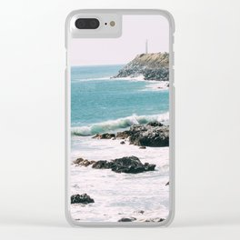 Highway 101 California Clear iPhone Case