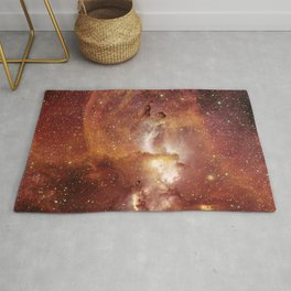 Star Clusters Space Exploration Rug