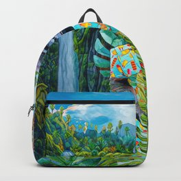 Gorilla in the jungle Backpack