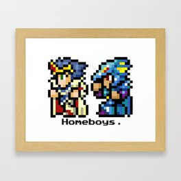 Homeboys (Cecil and Kain) Framed Art Print